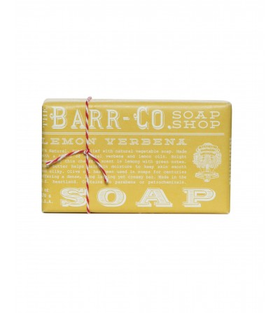 BARR-CO SOAP SHOP BAR SOAP LEMON VERBENA