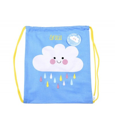 MOCHILA SACO HAPPY CLOUD