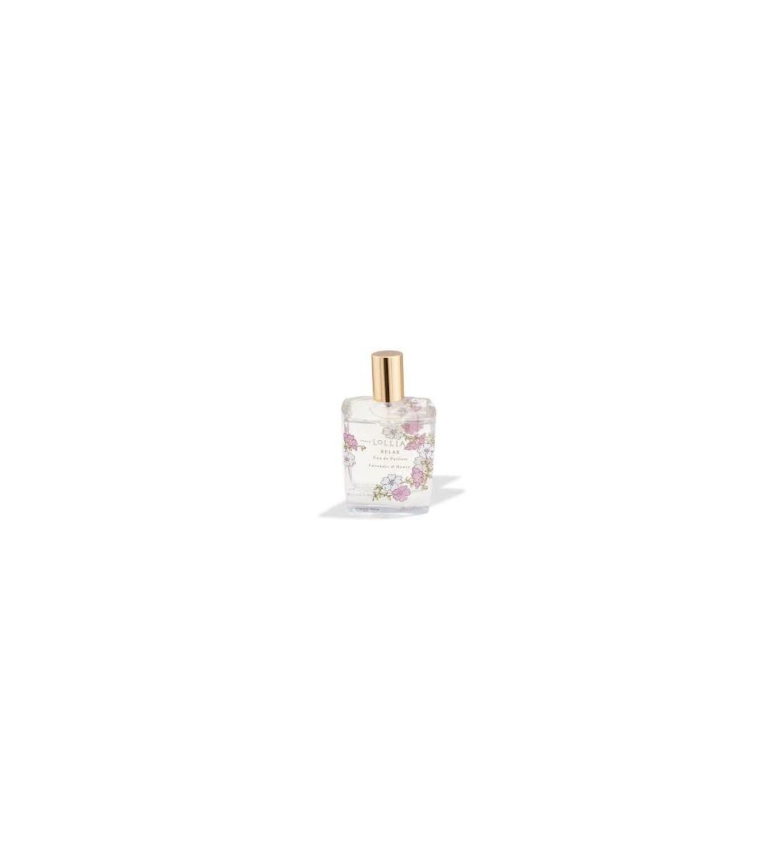 perfume relax de lollia con olor floral