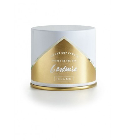 ILLUME VANITY TIN JAR GARDENIA